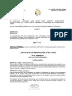 LEY ESTATAL DE PROTECCIÓN A TESTIGOS, DE CHIHUAHUA