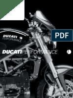 Accesorios Ducati Performance - Monster 2004