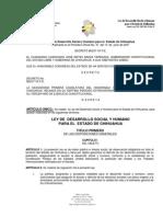 LEY DE DESARROLLO SOCIAL Y HUMANO PARA EL ESTADO DE CHIHUAHUA