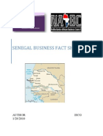Senegal Business Mission Fact Sheet