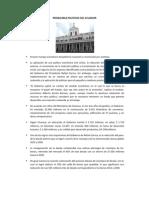 Problemas Politicos Del Ecuador
