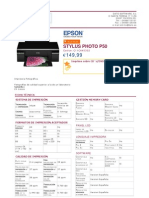 Epson Stylus Photo p50 c11ca45302
