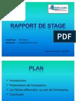 Rapport de Stage Fin