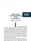 MARTINSON What Works Questions and Answers About Prison Reform
