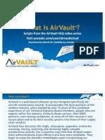 AirVault FAQ