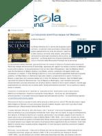Marco Respinti, «La rivoluzione scientifica nacque nel Medioevo», in «La Bussola Quotidiana» [www.labussolaquotidiana.it], Milano 17-06-2011