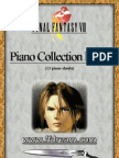 3760312 Final Fantasy VIII Piano Collection Book