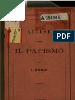 Accuse Contro Il Papismo