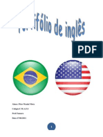 portifólio de inglês