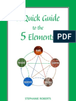 A quick guide  to the 5 elements - Stephanie Roberts
