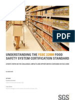 Sgs Understanding the Fssc 22000 Food Safety System Certification Standard 2009 [PDF Library]