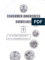 Consumer Awareness Guidelines