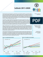 Food Price Outlook from OECD-FAO