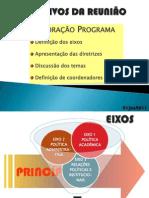 Princípios e Eixos do Programa