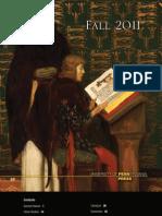 University of Pennsylvania Press Fall 2011 Catalog