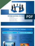 Sistema Nacional de Personal