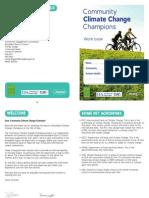 Climate Change Workbook