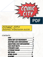 Comic City Standards Guide