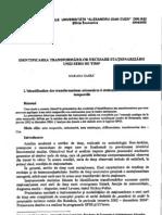 61 Gagea M-Identificarea Transformarilor Necesare Stationarii Unei Serii de Timp
