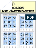 Logique - Test Psycho Techniques