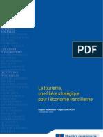 Le tourisme, une filière stratégique pour l'économie francilienne - Analyse et propositions de la CCIP