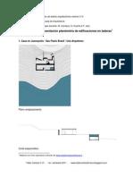 Representacion Planimetrica Edificios en Laderas