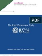 University of Bath School Governance Study - Final Copy1