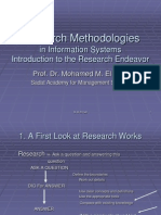 Research Methodologies 1
