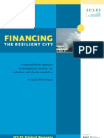 ICLEI Report - Financing the Resilient City-Final