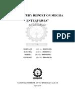 Case Study Report on Megha Enterprises