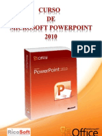 Curso de Power Point 2010 RicoSoft