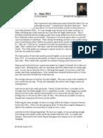 The Cassel Report - June 2011