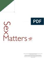 Sex Matters Report
