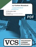 Program Guidelines 2007