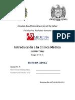 Ejemplo de Historia Clinica