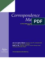 Interactive Correspondence Manual 07-08