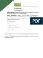 Sistema mecânico e termodinâmico