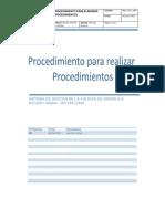 Man_Proc_000 (Procedimientos Para Realizar Procedimientos