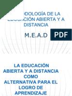METODOLOGÍA DE LA EDUCACIÓN ABIERTA Y A DISTANCIA