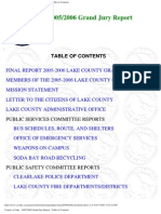 2001-02 Lake County Grand Jury Final Report | Prison | Sheriffs In