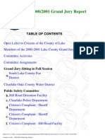 2000-01 Lake County Grand Jury Final Report