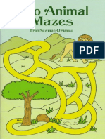 Zoo Animal Mazes
