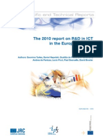 The 2010 Report on R D in ICT in the EU