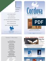 Cordova Church of Christ Bulletin June 19 Fathers Day