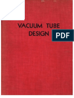 RCA - Vacuum Tube Design - 1940