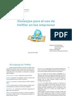Uso del Twitter en Las Empresas