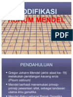 Modifikasi Hk. Mendel