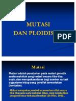 Mutasi Dan Ploidisasi