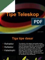 1 2 Tipe Teleskop