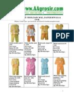 Jual Baju Tidur Wanita Grosir Murah Baju Anak Model Terbaru 2011 Aagrosir.com Katalog 15 Juni